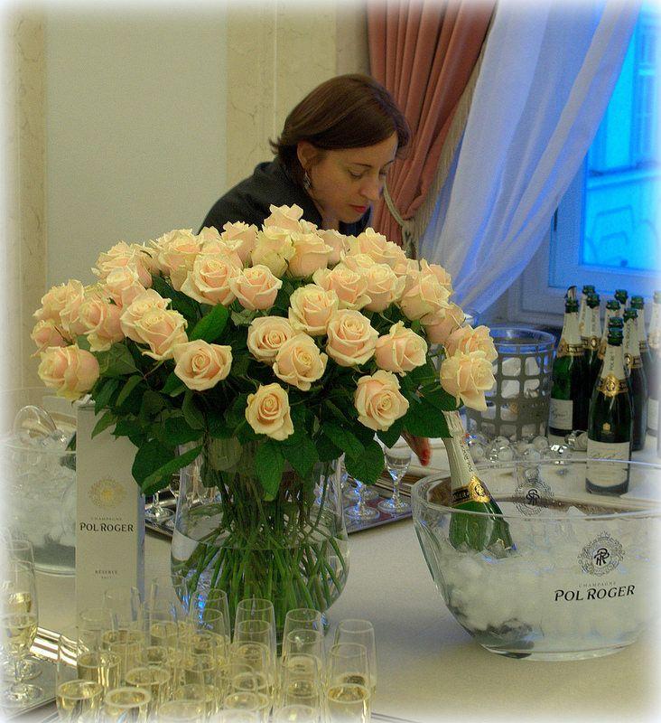 Pol Roger tasting at Polish Presidential Palace