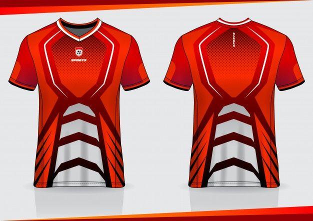 Download Tshirt Sport Soccer Jersey Template Design In 2020 Sports Tshirt Designs Soccer Shirts Jersey Design