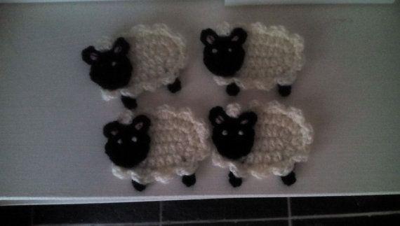Check out this item in my Etsy shop https://www.etsy.com/uk/listing/468891257/crochet-sheep-motif-crochet-motif-sheep
