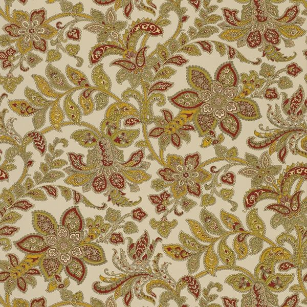Schumacher - Corsini Paisley in Patina