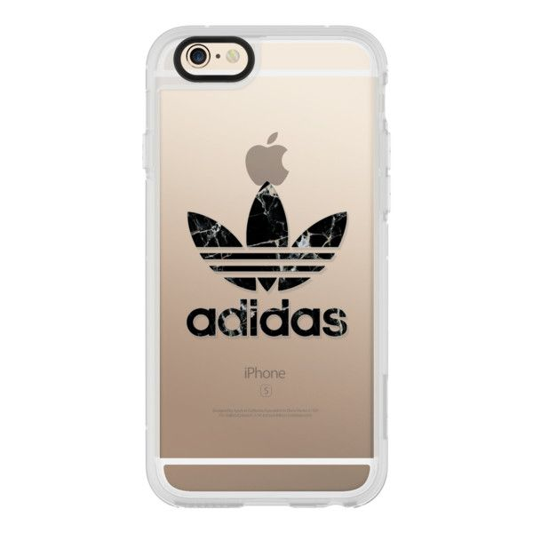 ADIDAS BLACK MARBLE - iPhone 6s Case,iPhone 6 Case,iPhone 6s Plus... (130 BRL) ❤ liked on Polyvore featuring accessories, tech accessories, iphone case, iphone cases, apple iphone cases, iphone cover case, clear iphone cases and iphone hard case