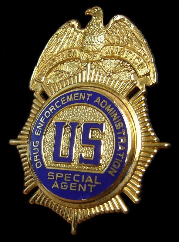 Drug Enforcement Agent - DEA Badge