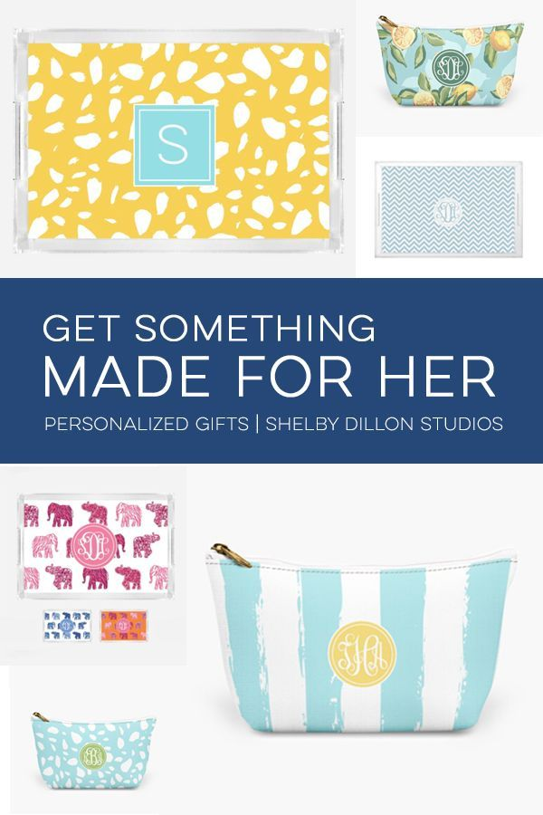 Spoil your friends. Shop personalized bridesmaids gifts and monogrammed accessories to thank your maid of honor and wedding bridal party. Choose from customized makeup bags, clutches with prints, bohemian jewelry and more.