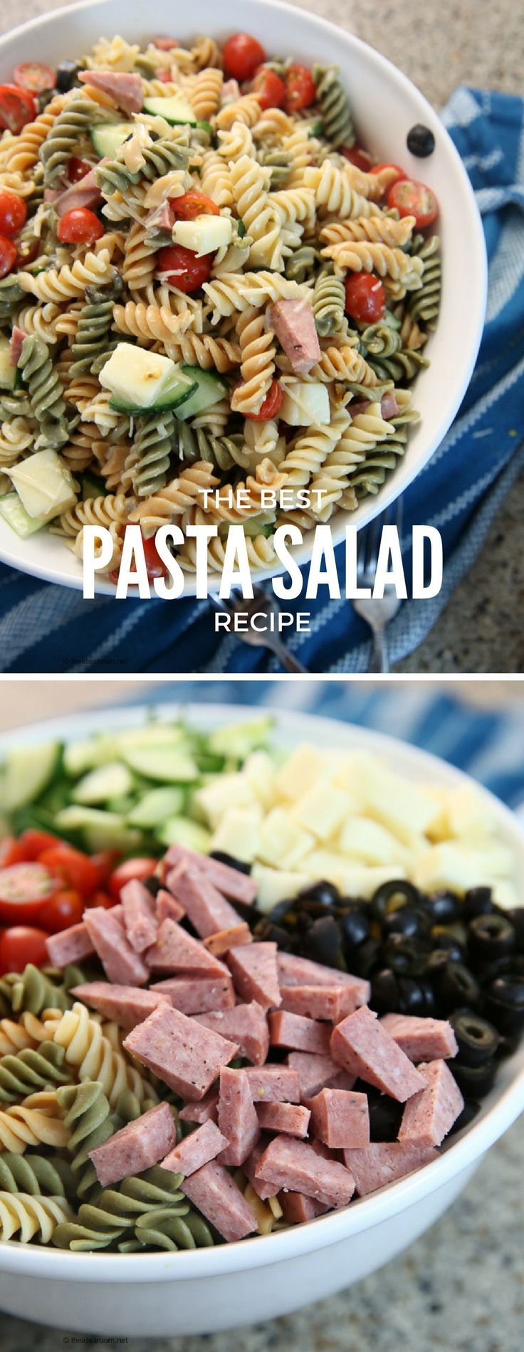 Recipes- Salad  Best Pasta Salad Recipe