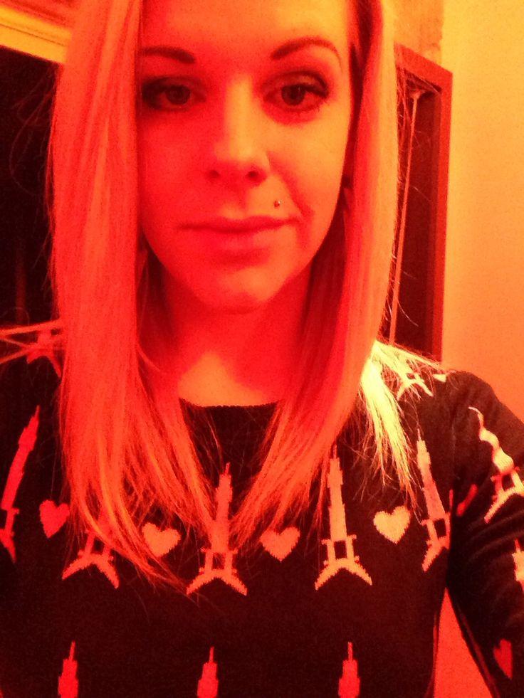 #blonde #selfie #work