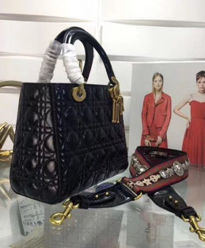 Replica Christian Dior Lady Dior Bag Black  5940 3  64212a78cf4b4