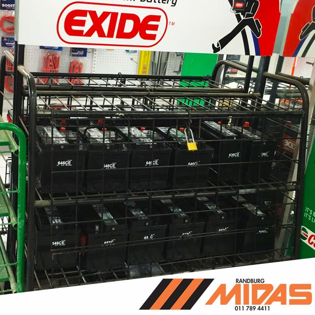 Our #Vehicle #batteries are so powerful we need to keep them locked up LOL #MidasPower