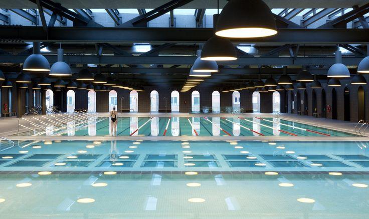 Bilbao La Alhóndiga (Project by Philip Starck) - Myrtha Pools