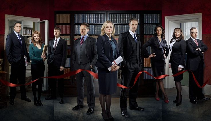 SILK BBC TV Series <3 I think it might be better than Suits, it's American counterpart