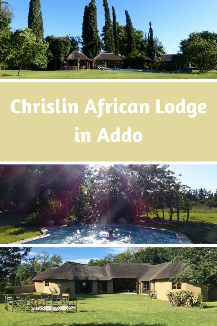 Chrislin African Lodge in Addo - Wir empfehlen die Sunset Hut. Traumhafte Anlage mit einem unglaublichem Frühstück.Es gibt empfehlenswerte direkte Touren in den Addo Elephant und Schotia Park.