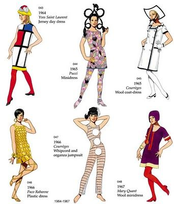 La Tigresse Blonde Swinging Sixties Gcse Textiles Pinterest Sixties Fashion Fashion