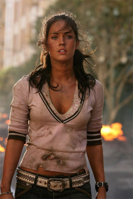 Megan Fox es Mikaela Banes en transformers