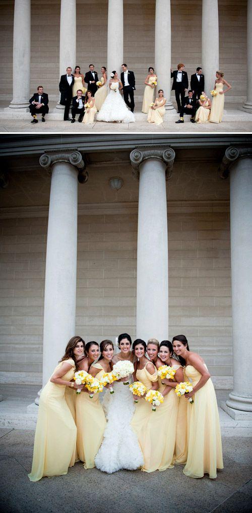 formal San Francisco wedding Legion of Honor wedding photo by Tia Claire Studio