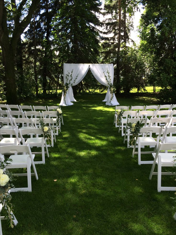 Bridal Canopy with Vines  #lachefs #lachefsdecor #decor #wedding #weddingceremony #bridalcanopy #canopy #chuppah #outdoorceremony #florals #funkypetalslethbridge #funkypetals