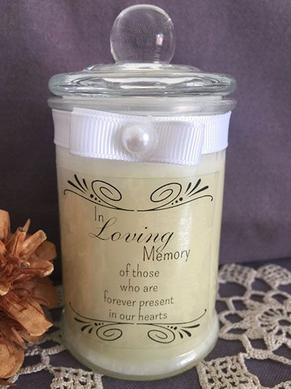 In Loving Memory Soy Candle