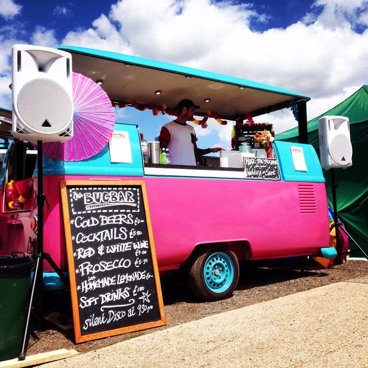 VW DJ camper van & bar Bug bar, Private event, Bar service