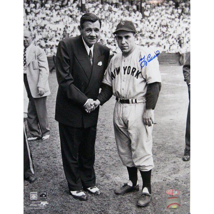 $134.99 Steiner Sports Yogi Berra Autographed Photo With Babe Ruth - Beyond the Rack I WANT I WANT I WANT!