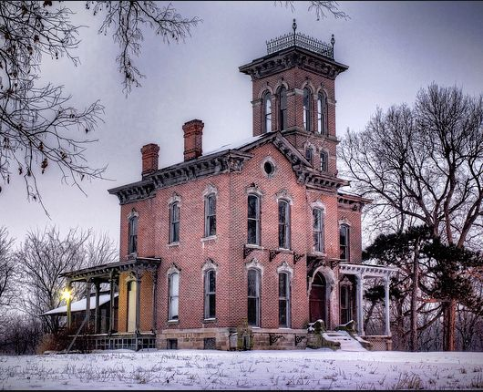 Sauer Mansion- one of America's most haunted sites. Kansas ...
