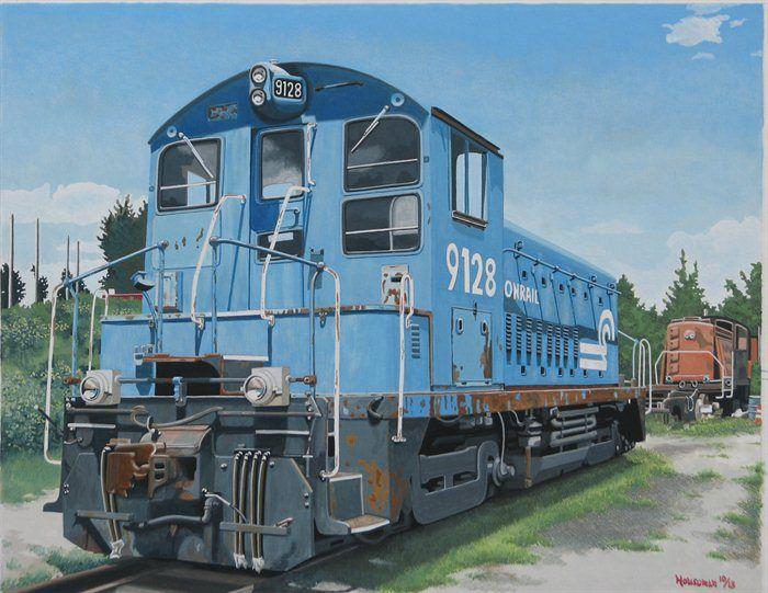 like trains? by John Houseman
