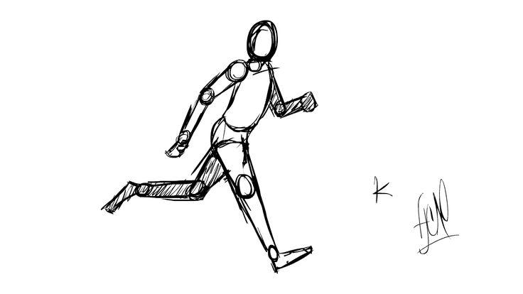 Run Cycle Keys Sketch