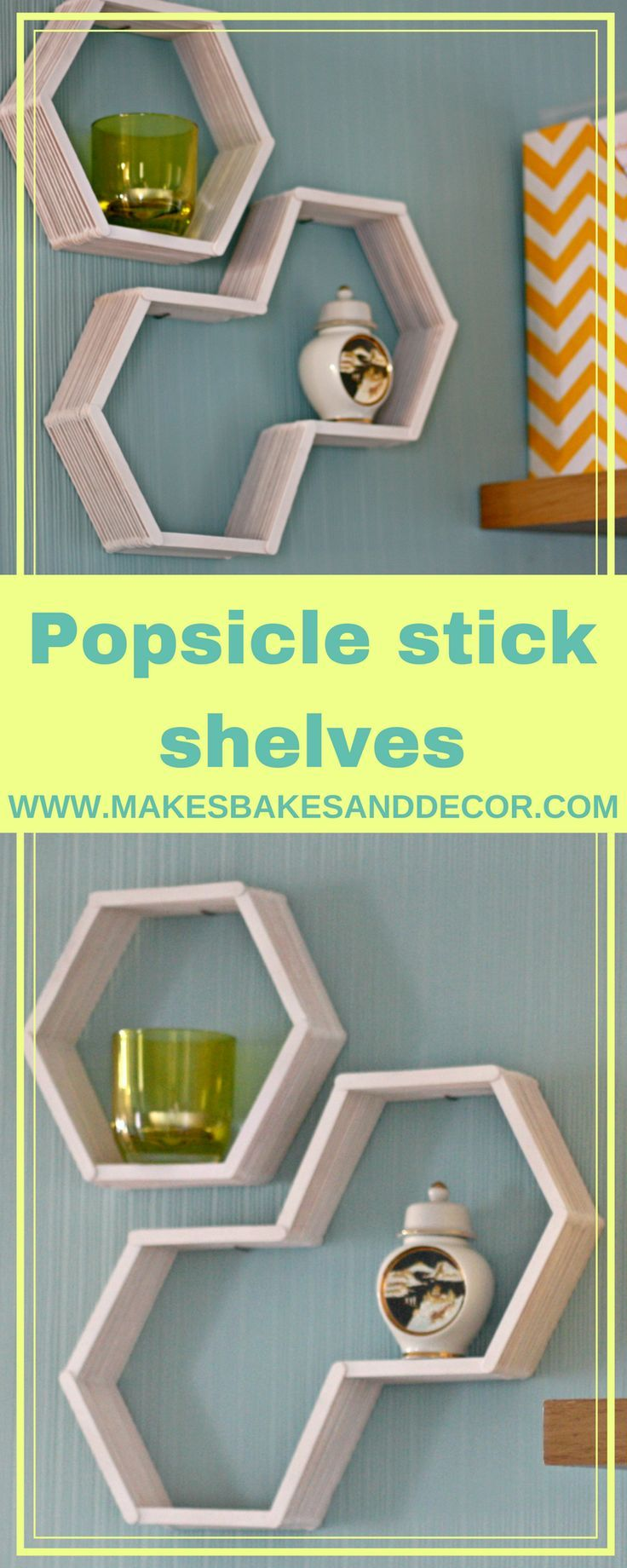 popsicle stick display shelves shelves made with just some popsicle sticks! A really cute and easy craft1