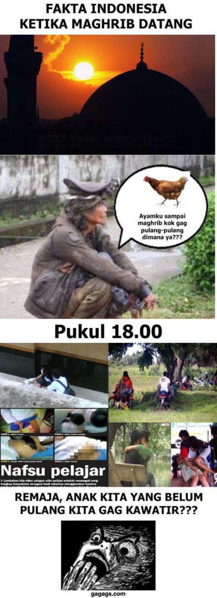 Fakta Indonesia Ketika Maghri Tiba