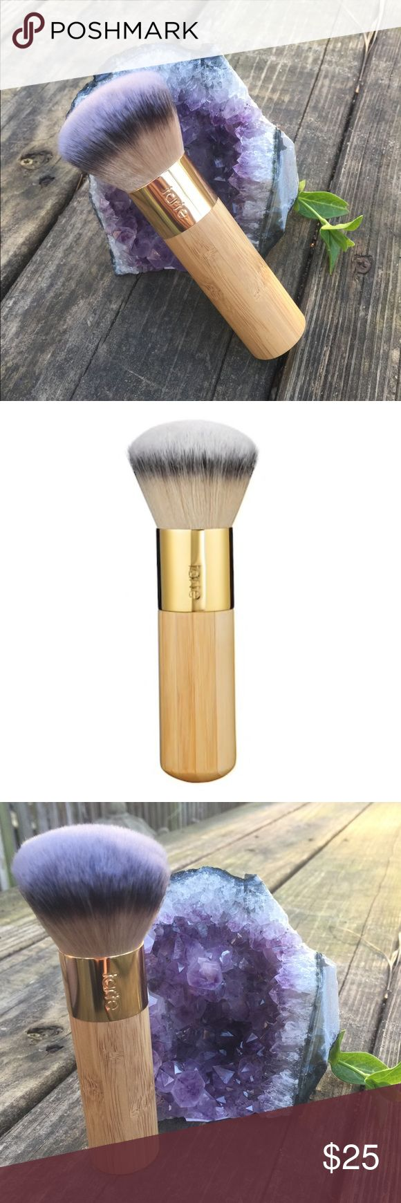 Tarte bamboo brush. ✨The Buffer✨ Tarte bamboo foundation brush.   Vegan friendly! 🌱   Allows you to create the soft airbrush look.   Brand new in box. Only taken out for photos. tarte Makeup Brushes & Tools