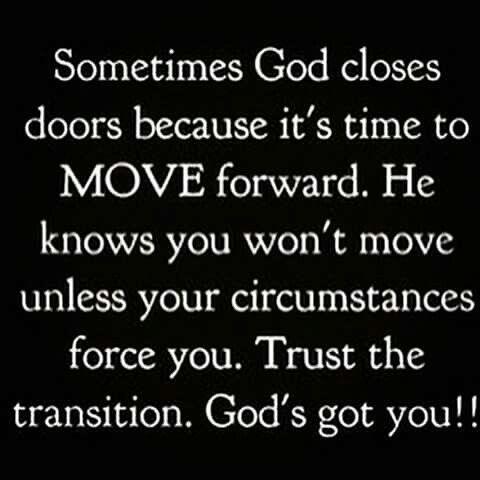 Let him lead you.