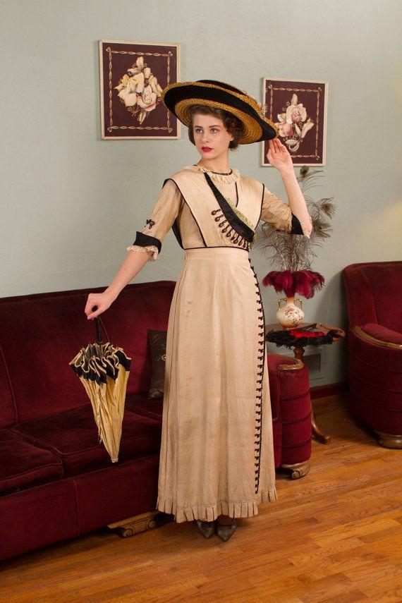 1912 fashion titanic era dresses