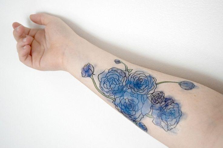 Kleines Kompass Tattoo   – Tattoo