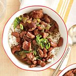 Slow Cooker Red Beans and Rice Recipe | MyRecipes.com