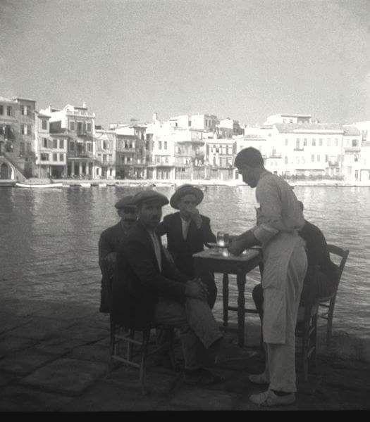 Χανιά, το λιμάνι. René Zuber et Roger Leenhardt - EN CRETE SANS LES DIEUX,1934.