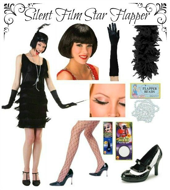 Silent Film Star DIY Products Used