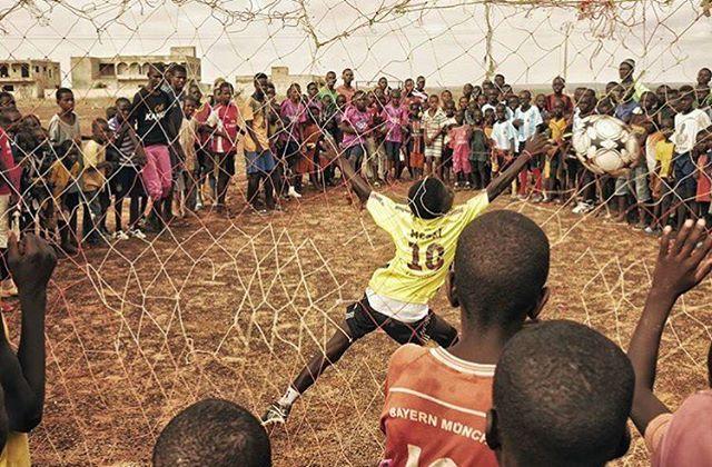 Tir au but ⚽️ w/ @nuovatecnica  #senegal #football