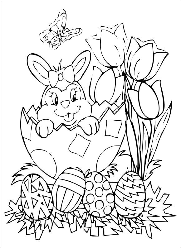 58 best Easter Coloring Pages images on Pinterest Coloring