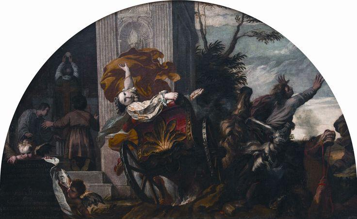 Karel Škréta - Smrt Drahomíry (1641, zámek Mělník, sbírka Jiřího Lobkowicze)