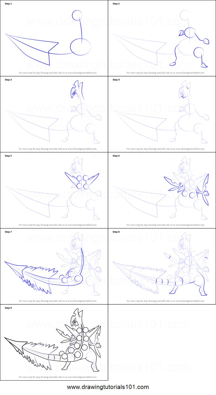 How To Draw Mega Sceptile From Pokemon Printable Step By Drawing Sheet DrawingTutorials101