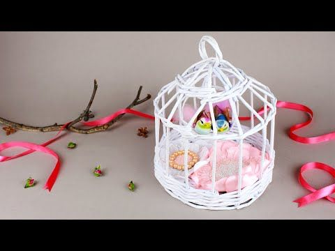 This time we'll craft a paper cage with birds and flowers inside that  will…
