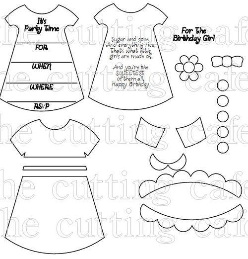 baby mini dress templates