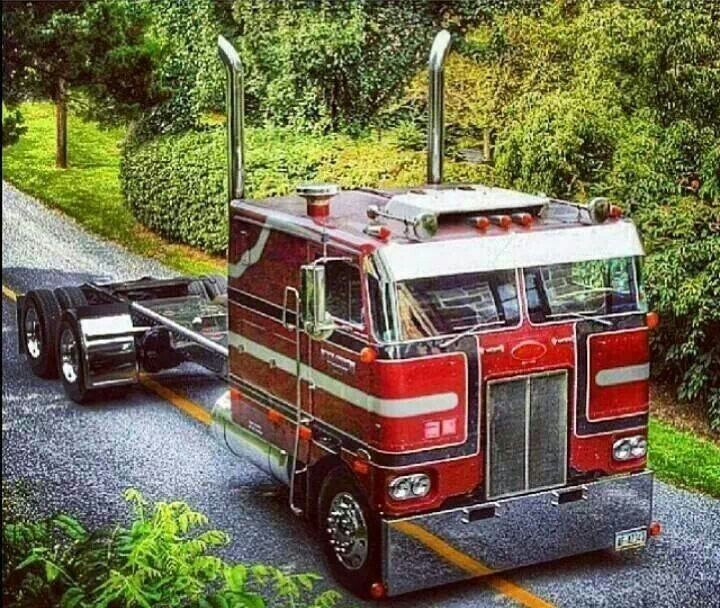 17 Best Images About Old Semi Trucks On Pinterest