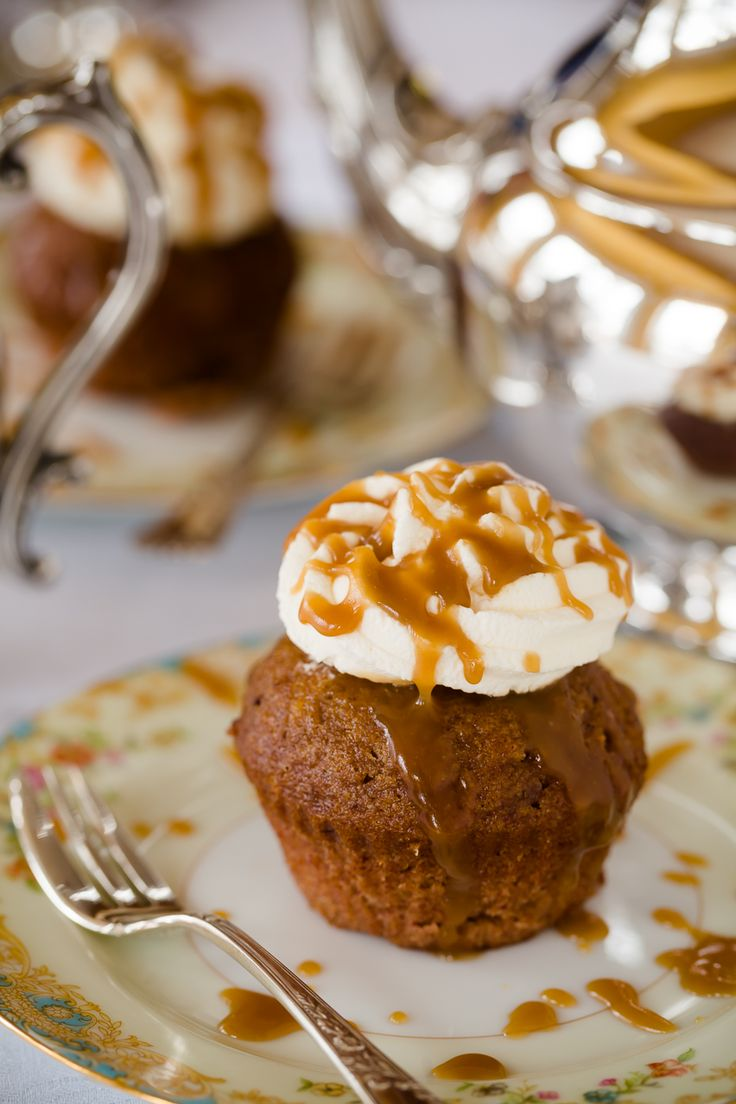 Sticky Toffee Pudding Cupcakes - from Cupcake Project
