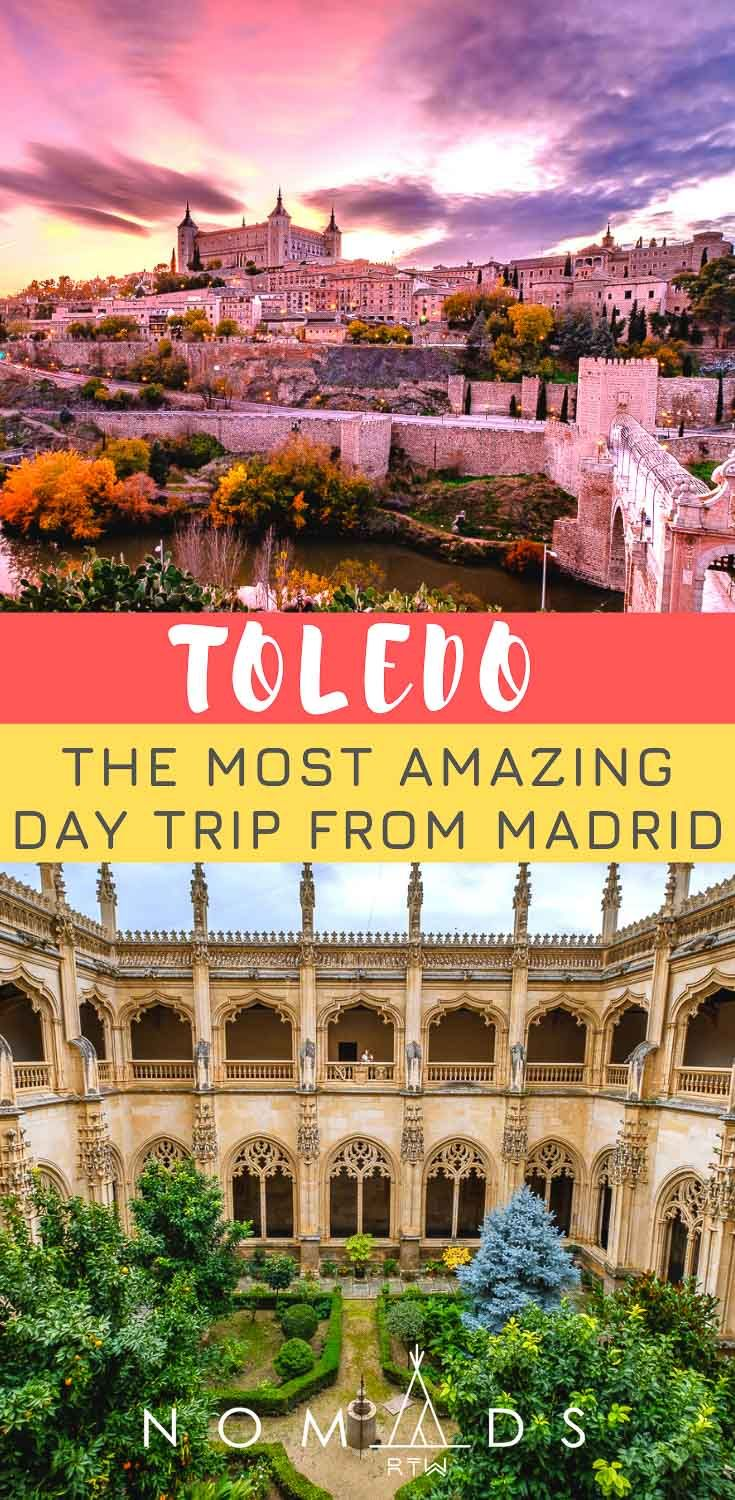 Discover The Most Amazing Day Trip From Madrid Spain Travel Guide Madrid Travel Spain Itinerary