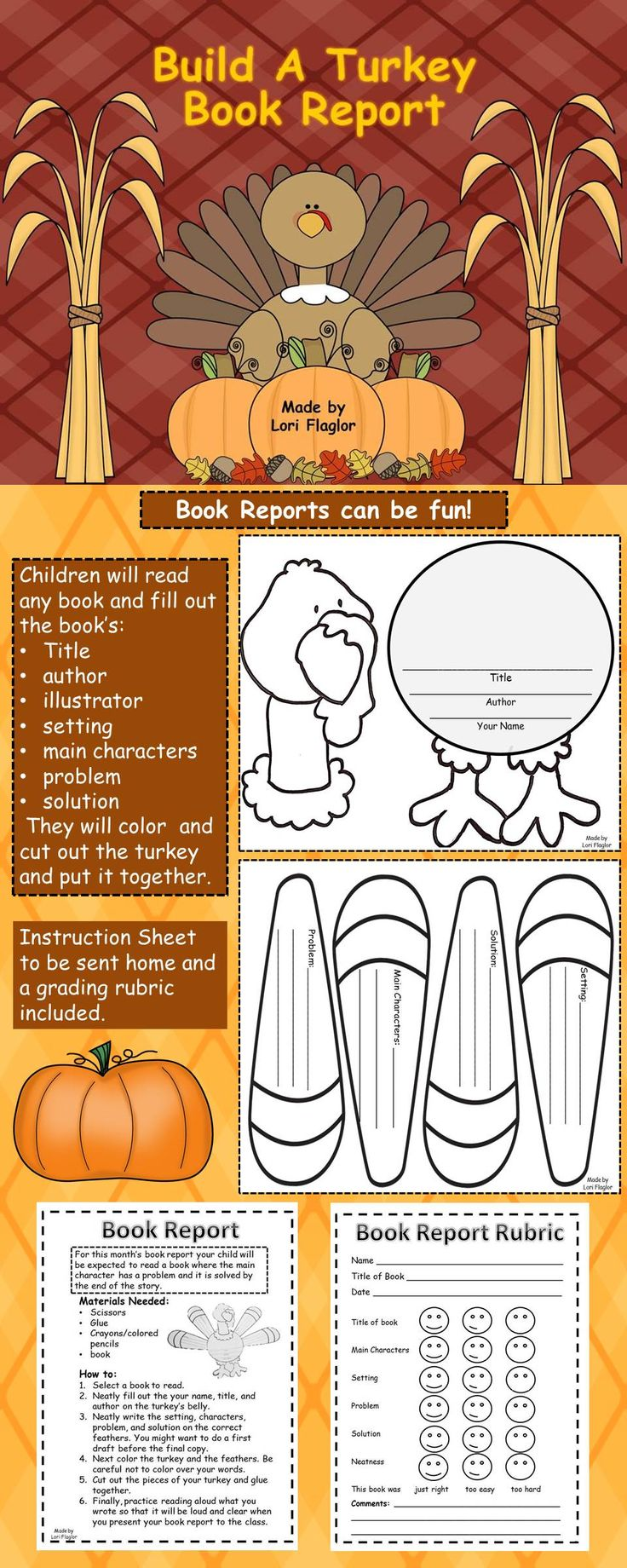 85 best Fall Projects images on Pinterest | Teaching ideas ...