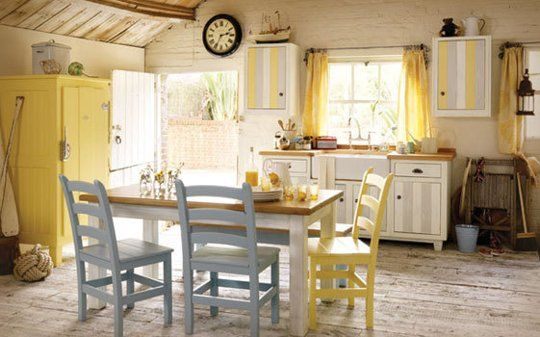 17 Best Ideas About Yellow Country Kitchens On Pinterest