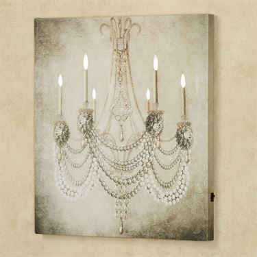 1000 ideas about canvas wall art on pinterest canvas for Chandelier mural antique