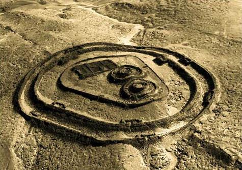 Chankillo ruins, near the Peruvian coast