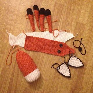 WoollyRhinoCrafts: FREE Crochet Pattern - The Fox Plush from The Little Prince