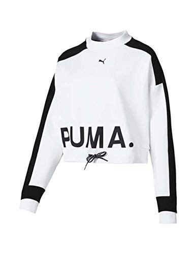 62ee1a6ec Puma Sudadera Chase Blanco Mujer