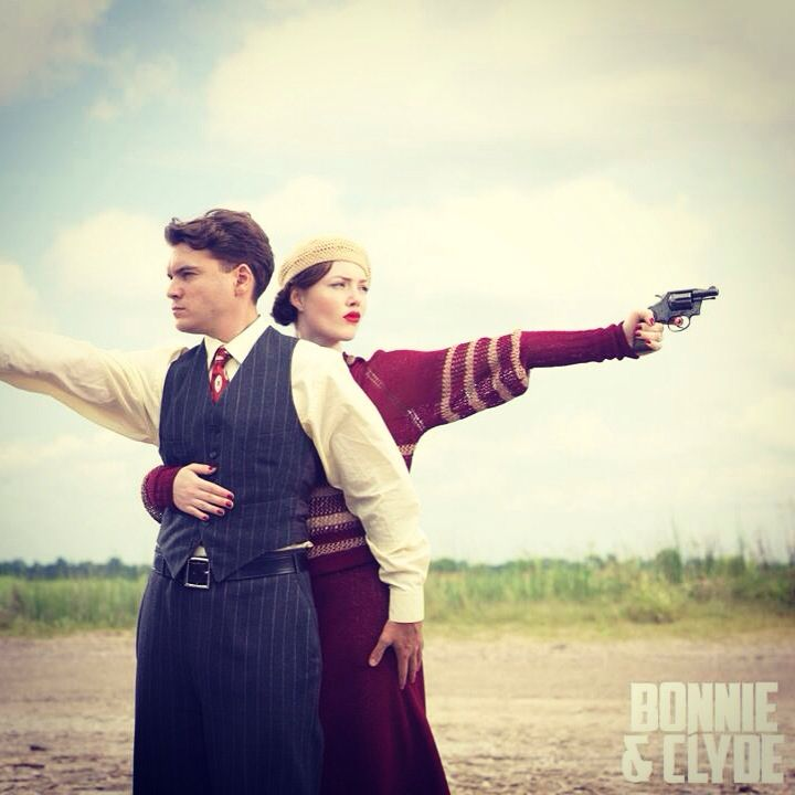 Bonnie and Clyde 2013 - watch it for the clothes & the music & the cars!