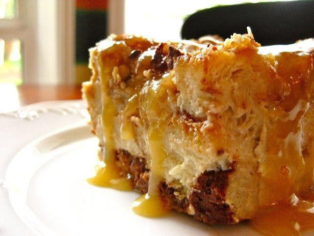 Run, do not walk, to your kitchen and make this recipe IMMEDIATELY. If you are a fan of bread pudding, this recipe will throw you over the e...